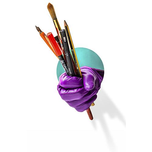 Ilustración Escuela De Arte José Nogué